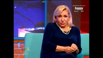 Vesna Zmijanac - Intervju - Iskreno sa... - (TV Happy 27.1.2015.) (2)