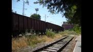 Товарен влак от Русе