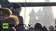Russia: Soviet military equipment features in Red Square commemorative march
