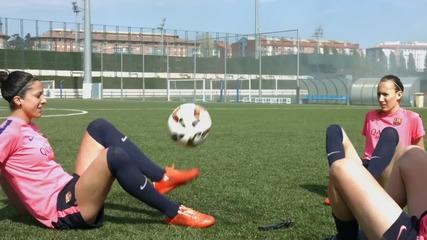 Skills Fc Barcelona Women's Football - Freestyle