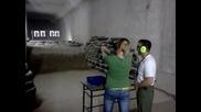 Girl shooting the most powerful handgun of the world