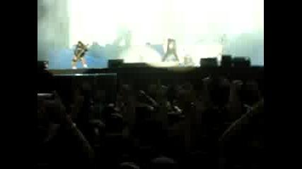 Metallica Live In Sofia - Началото