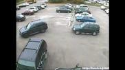 фал при паркиране