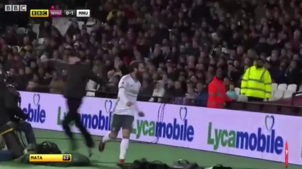 Highlights: West Ham - Manchester United 02/01/2017