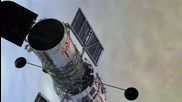 """Телескопът """"Хъбъл"""" засне космически светлинен меч"""