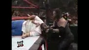 Wff Raw Is War 30.08.1999 * Undertaker and Big Show vs The Rock and Mankind * Tag Team Championship
