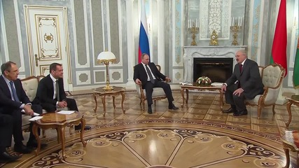 Belarus: Which one's Putin? Lukashenko confuses Medvedev with president
