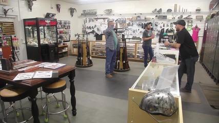 USA: Gun store's arcade claw machine stocked with ammo, gun parts