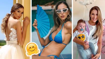 Съпругата Алекс Петканова: Какъв е семейният живот? Трудно ли се гледа бебе?
