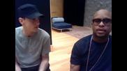 Eminem и Royce Da 5'9 отговарят на въпроси (супер смях!)