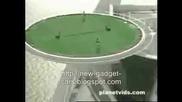 Невероятно тенис игрище в Дубайската