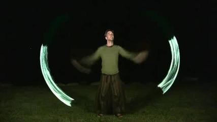 Нещо красиво: Трикове с зелен оган!!!