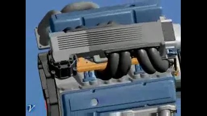 Двигател на Chevrolet.