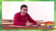 Ето как се преписва на изпит - Много смях от скрита камера