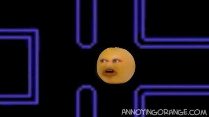 Досадния портокал се ебава с Pacman [ смях ]