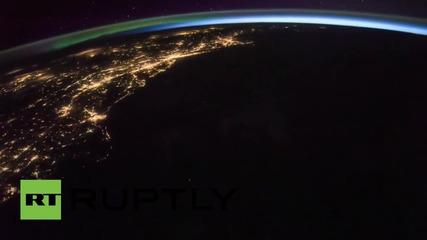 Гръмотевици над САЩ, снимани от Космоса