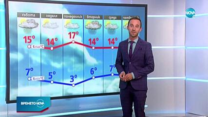 Прогноза за времето (31.10.2020 - централна емисия)