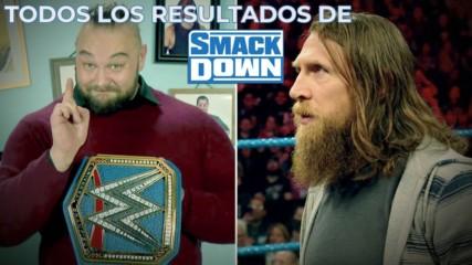 WWE SmackDown todos los resultados: WWE Ahora, Nov 15, 2019