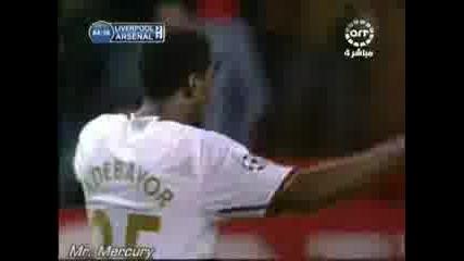 1/4 Ucl Liverpool 3 - 2 Arsenal - Steven Gerrard