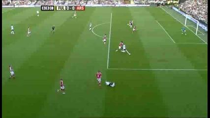 Фулъм - Арсенал 0:1