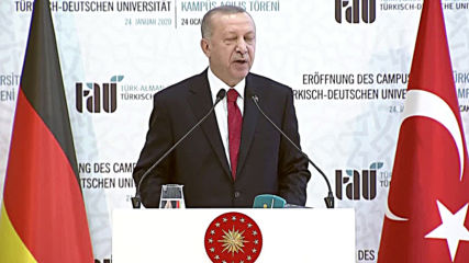 Turkey: Erdogan warns Libya 'chaos' could affect 'entire Mediterranean' during Merkel visit