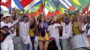 Световното 2014! Pitbull feat. Jennifer Lopez & Claudia Leitte - We Are One ( Ole Ola )