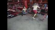 Dwarf Midgets Killer Muay Thai Boxing Nasty Fighting