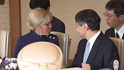 Japan: Emperor Naruhito hosts Macron in Tokyo