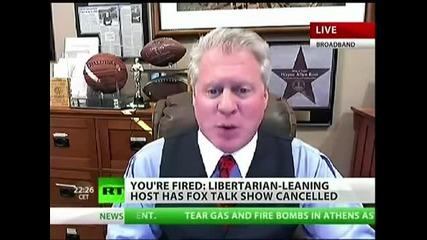 Fox Свали от ефир предаване което подкрепя Рон Пол