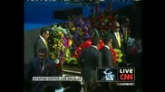 Церемония В Памет На Майкъл Джексън в staple center сбогом майкъл част 3