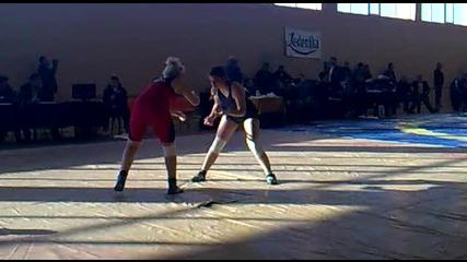 Милена Такиева(славия - 2009) срещу Златка Жекова(черноморец - св.борба)