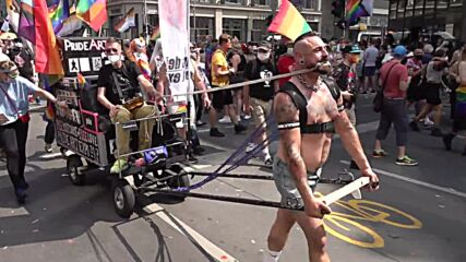 Germany: Tens of thousands fill Berlin streets for Christopher Street Day parade
