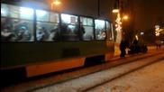 Студенти яздат Трамвай