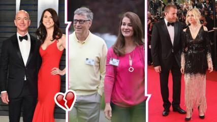Едни от най-скъпите звездни разводи в света