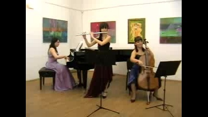 Трио Tenderly- Badinerie-Bach
