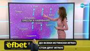 Прогноза за времето (26.01.2021 - централна емисия)