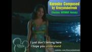 Hsm2 Gotta Go My Own Way Karaoke