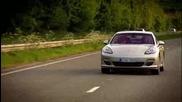 Top.gear - Porsche Panamera Срещу Пощенските Услуги - Част 1 ( С превод )