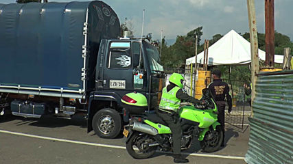 Colombia: Truck carrying aid arrives at Venzuela border
