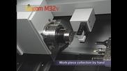 работа на металорежеща машина с цпу - Cincom M32v