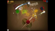 Fruit Ninja: Classic Mode My gameplay