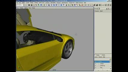 3d Buzz Maya Advanced Modeling Murcielago