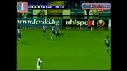 5.8.2009 Левски - Фк Баку 2 - 0 гол на Георги Христов Шл 3 пр.кръг