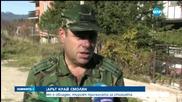 Над 100 доброволци се включиха в гасенето на пожара край Смолян