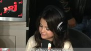 Selena Gomez at Nrj