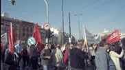 Greece: Trade unions protest as third bailout review underway in Athens