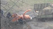 Машина за рязане на клони
