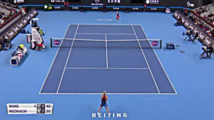 Wta 2018 China Open - Semifinal - Wang Qiang vs Caroline Wozniacki