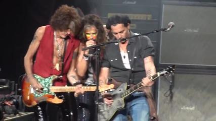 Aerosmith ft Johnny Depp - Train Kept A Rolling