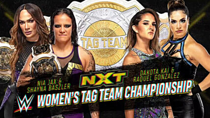 Dakota Kai & Raquel González battle Nia Jax & Shayna Baszler this Wednesday